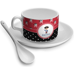 Pirate & Dots Tea Cup - Single (Personalized)