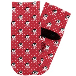 Pirate & Dots Toddler Ankle Socks (Personalized)