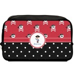 Pirate & Dots Toiletry Bag / Dopp Kit (Personalized)