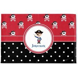 Pirate & Dots Woven Mat (Personalized)