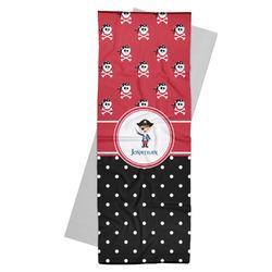 Pirate & Dots Yoga Mat Towel (Personalized)