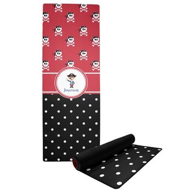 Pirate & Dots Yoga Mat (Personalized)
