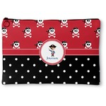Pirate & Dots Zipper Pouch (Personalized)