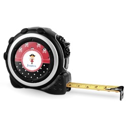 Girl's Pirate & Dots Tape Measure - 16 Ft (Personalized)