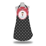 Girl's Pirate & Dots Apron (Personalized)