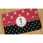 Girl's Pirate & Dots Area Rug (Personalized)