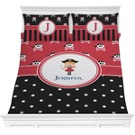 Girl's Pirate & Dots Comforters (Personalized)