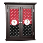Girl's Pirate & Dots Cabinet Decal - Custom Size (Personalized)