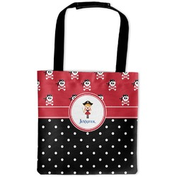 Girl's Pirate & Dots Auto Back Seat Organizer Bag (Personalized)