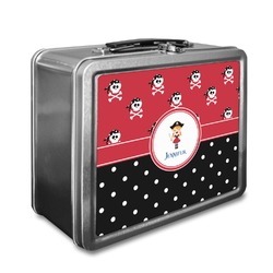 Girl's Pirate & Dots Lunch Box (Personalized)