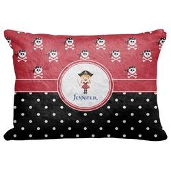 Girl's Pirate & Dots Decorative Baby Pillowcase - 16