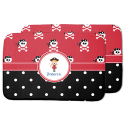 Girl's Pirate & Dots Dish Drying Mat (Personalized)