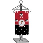 Girl's Pirate & Dots Finger Tip Towel - Full Print (Personalized)