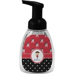 Girl's Pirate & Dots Foam Soap Dispenser (Personalized)
