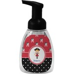 Girl's Pirate & Dots Foam Soap Dispenser (Personalized)