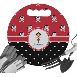 Girl's Pirate & Dots Gardening Knee Cushion (Personalized)