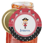 Girl's Pirate & Dots Jar Opener (Personalized)
