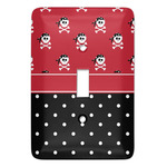 Girl's Pirate & Dots Light Switch Covers (Personalized)