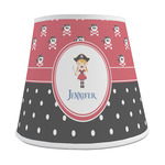 Girl's Pirate & Dots Empire Lamp Shade (Personalized)