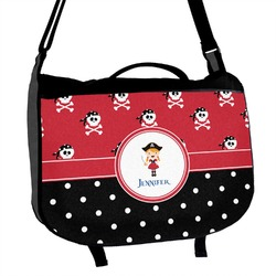 Girl's Pirate & Dots Messenger Bag (Personalized)