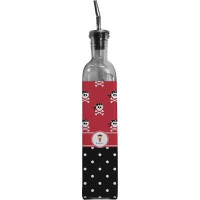 Girl's Pirate & Dots Oil Dispenser Bottle (Personalized)