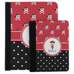 Girl's Pirate & Dots Padfolio Clipboard (Personalized)