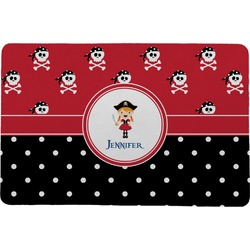 Girl's Pirate & Dots Comfort Mat (Personalized)