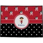 Girl's Pirate & Dots Door Mat (Personalized)