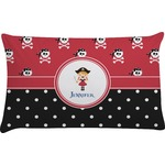 Girl's Pirate & Dots Pillow Case (Personalized)