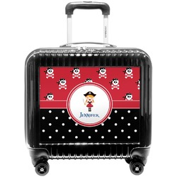 Girl's Pirate & Dots Pilot / Flight Suitcase (Personalized)