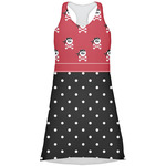 Girl's Pirate & Dots Racerback Dress (Personalized)