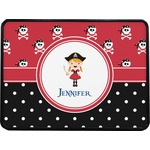 Girl's Pirate & Dots Rectangular Trailer Hitch Cover (Personalized)
