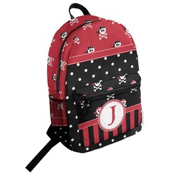 Girl's Pirate & Dots Student Backpack (Personalized)