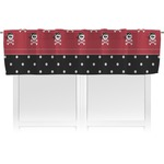 Girl's Pirate & Dots Valance (Personalized)