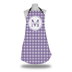 Gingham Print Apron (Personalized)