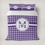 Gingham Print Duvet Covers (Personalized)