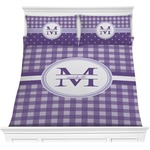 Gingham Print Comforters (Personalized)