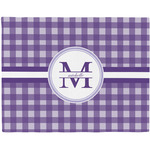 Gingham Print Placemat (Fabric) (Personalized)