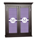 Gingham Print Cabinet Decal - Custom Size (Personalized)