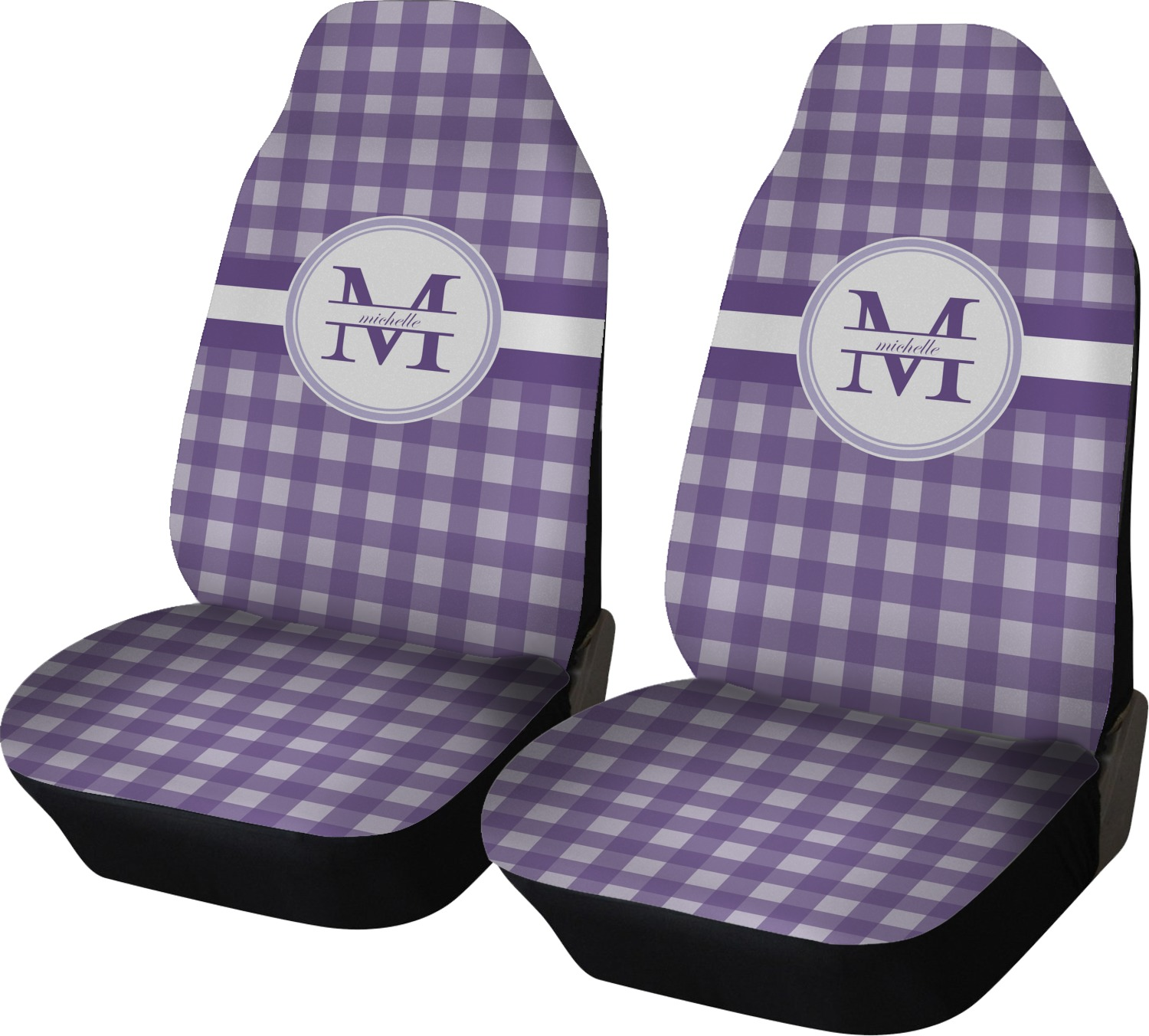 Plaid Baby Car Seat Covers