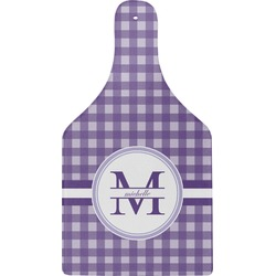 Gingham Print Cheese Board (Personalized)