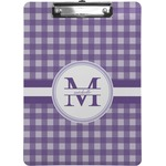 Gingham Print Clipboard (Personalized)