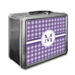Gingham Print Lunch Box (Personalized)