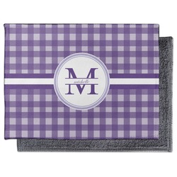 Gingham Print Microfiber Screen Cleaner (Personalized)