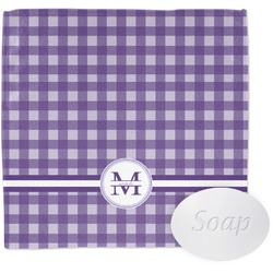 Gingham Print Wash Cloth (Personalized)