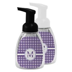Gingham Print Foam Soap Bottle (Personalized)