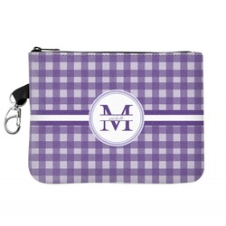 Gingham Print Golf Accessories Bag (Personalized)