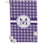 Gingham Print Golf Towel - Full Print (Personalized)