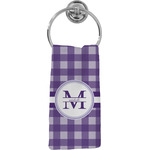 Gingham Print Hand Towel - Full Print (Personalized)