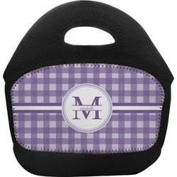 Gingham Print Toddler Lunch Tote (Personalized)
